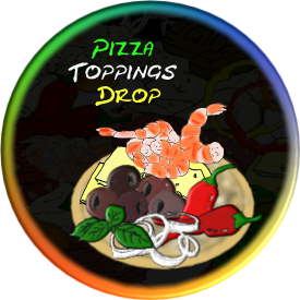 Pizza Toppings Drop Promo Image