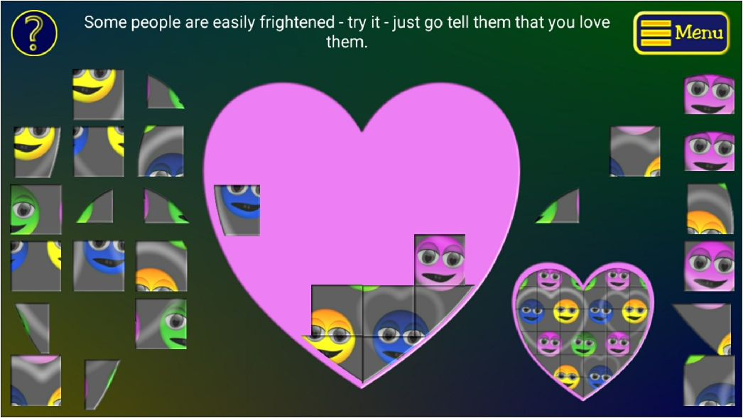 Quirky Emotions Game Screenshot