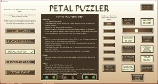 Petal Puzzler Game Screenshot